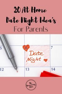 20 Date Night Idea's For Parents